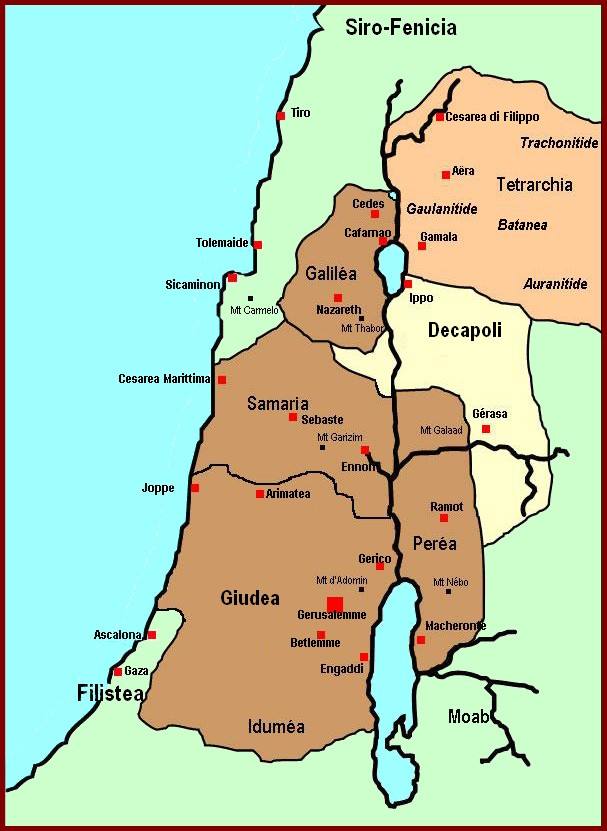 Cartina Geografica Palestina.Palestina Carta Stradale