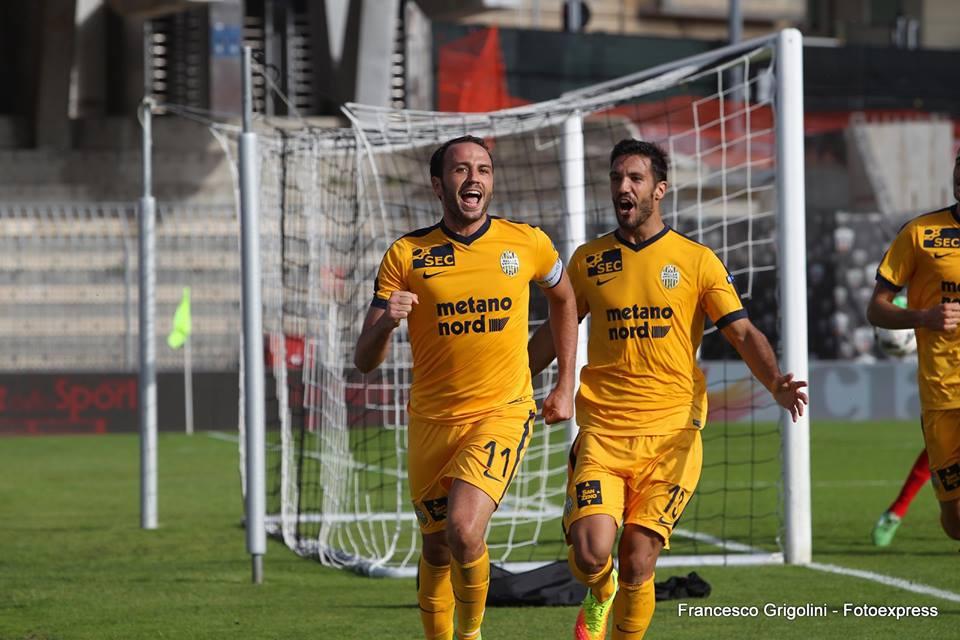 Serie B LIVE: Entella-Benevento 3-2. Cittadella sotto, Carpi 2-0 e Verona 2-1