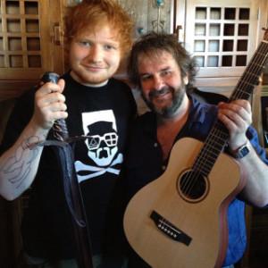 Ed-sheeran-lo-hobbit-peter-jackson
