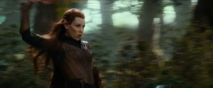 Tauriel in Action