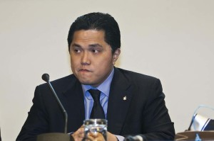 Conferenza stampa Erick Thohir