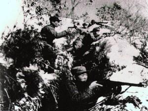 Trincea nella Guerra di Corea