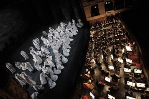 Il Maestro Riccardo Muti con l'Orchestra e il Coro dell'Opera di Roma_Nabucodonosor_marzo 2011(@Corrado Falsini)