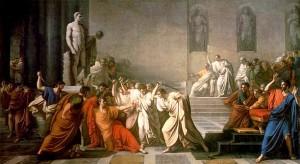 vincenzo camuccini, la morte di cesare, 1798