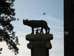 Lupa Capitolina, Piazza del Campidoglio, Roma