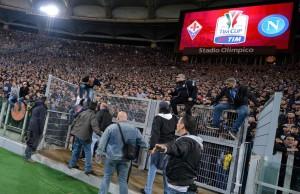 Calcio: finale Coppa Italia; Fiorentina-Napoli