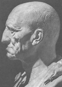 Ritratto di patrizio romano, prima metà I sec. a.C., Roma, Collezione Torlonia