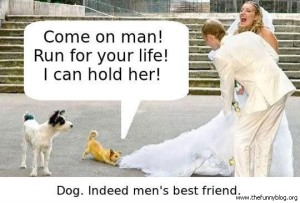 dog-mens-best-friend-funny-wedding-picture-run-hold-her