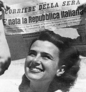 """Un esempio riuscito di democrazia """"esportata"""" dagli americani: l'Italia"""