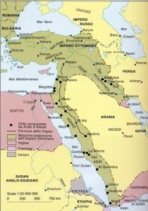 Impero Ottomano nel 1914