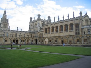 Oxford, l'Università frequentata da Maria