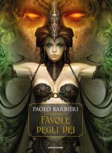 La copertina di 'Favole degli Dei'