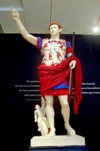 Augusto di Prima Porta, restituzione dei colori.