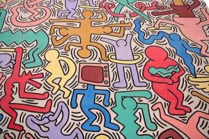 """K.Haring """"Tutto Mondo"""""""