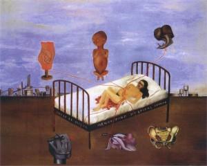 """Henry Ford Hospital (Il letto volante)"" 1932."