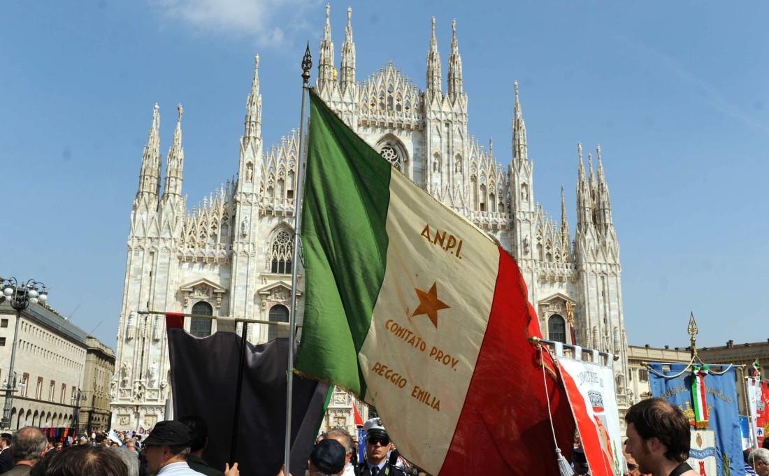 MILANO: IL SINDACO MORATTI A MANIFESTAZIONE DEL 25 APRILE