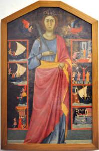Il dipinto di Santa Giulia e gli episodi della vita e del martirio