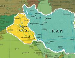 iran_iraq_map