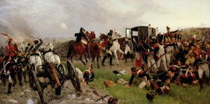 On the Evening of the Battle of Waterloo 1879