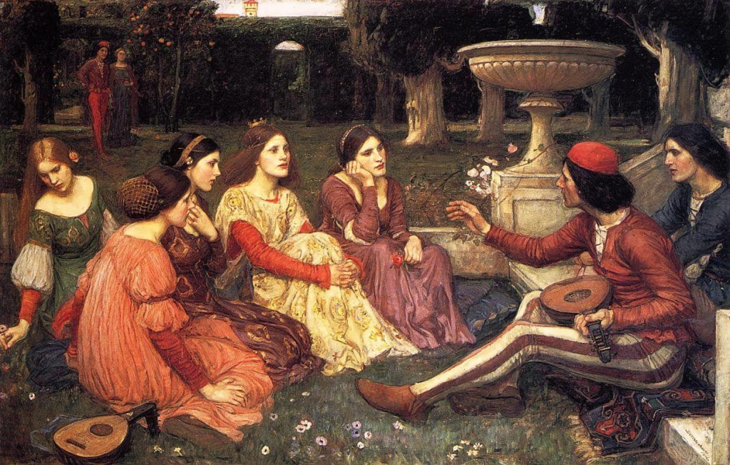 John-WilliamWaterhouse-A-Tale-from-the-Decameron