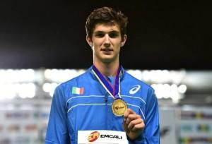 Stefano Sottile sul podio.