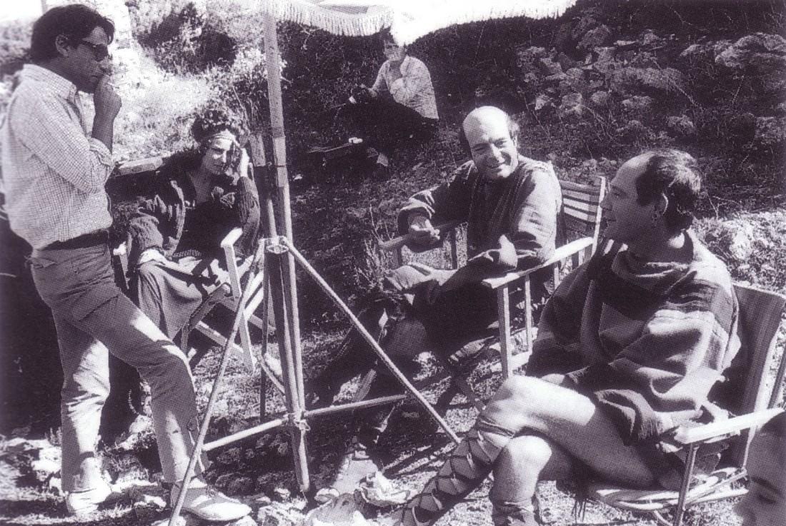 Il regista Luigi Magni