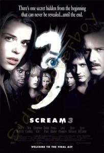 Scream 3 Poster Design Concepts