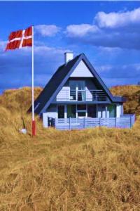 Caratteristica casa nelle campagne di Søndervig.