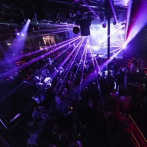 Vita notturna in una discoteca nel centro di Århus.