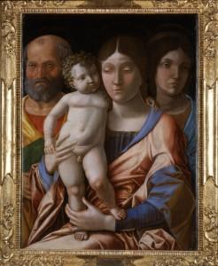 Andrea-Mantegna-Sacra-Famiglia-con-una-santa-tempera-su-tela-cm-76x555