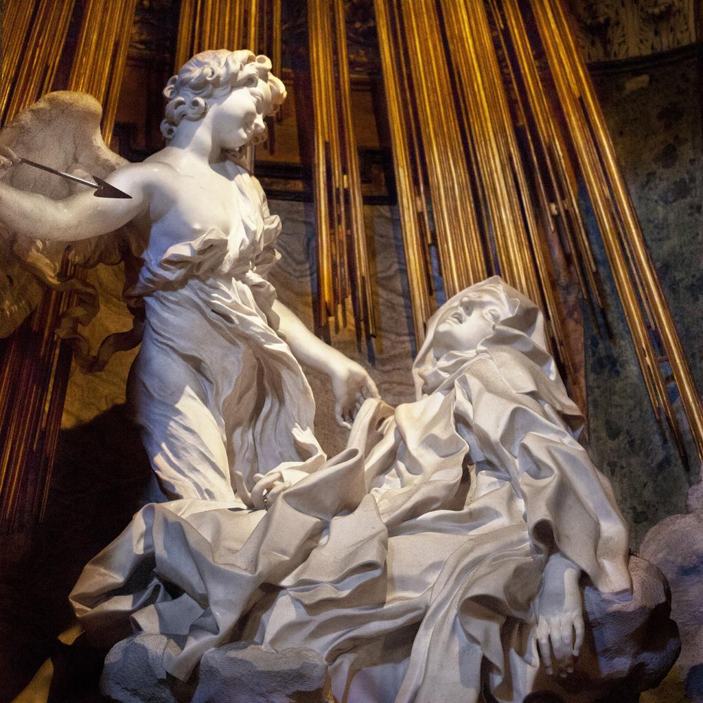 Gian-Lorenzo-Bernini-Trasverberazione di Santa Teresa