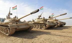 Forze corazzate peshmerga