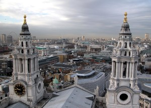 View_from_St_Pauls_Cathedral_London