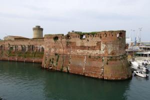 Capitana_bastion_and_Matilda's_Keep,_Fortezza_Vecchia,_Livorno