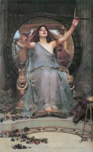Circe *oil on canvas *148 x 92 cm *1891