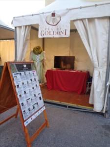 Lo stand Goldoni a Effetto Venezia