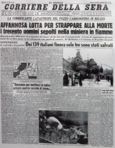 Marcinelle-Prima-pagina-giornale-9-agosto-1956