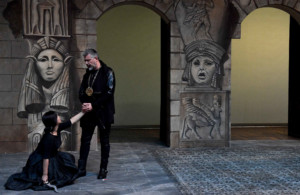 Prove Flauto Magico al Goldoni: Yukiko Aragaki e Manrico Signorini