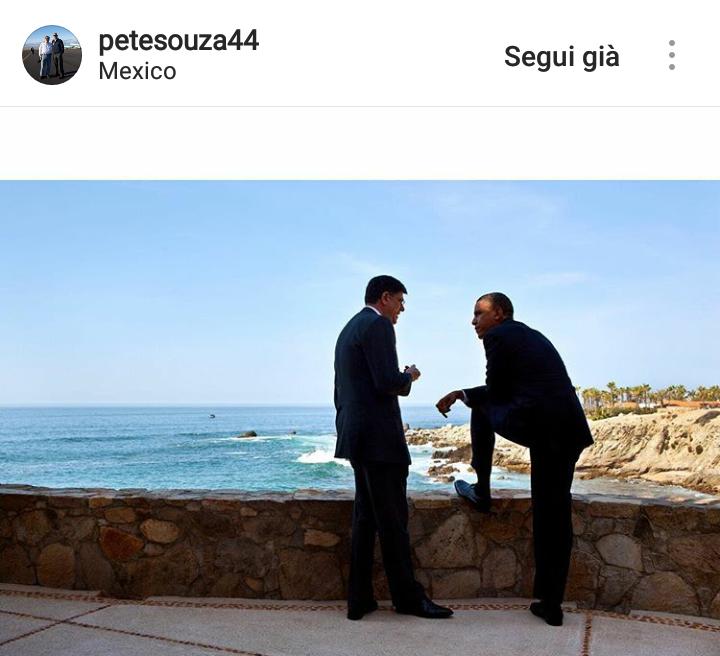 Obama conversa in riva al mare con Jack Lew, futuro Segretario di Stato al Tesoro.