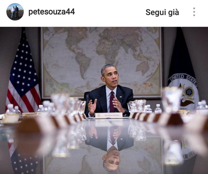 Obama al Consiglio Nazionale di Sicurezza.