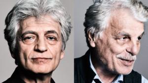 Fabrizio Bentivoglio e Michele Placido