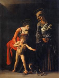 CaravaggioSerpent