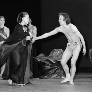 Martha e Rudolf Nuereyev