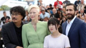 Okjia Cast Cannes