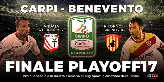 Serie B, Playoff: Carpi in finale, 1-0 al Frosinone