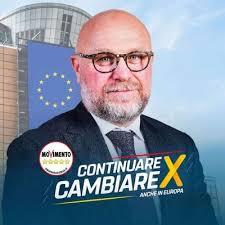 L'immagine scelta da Nogarin per la campagna delle europee